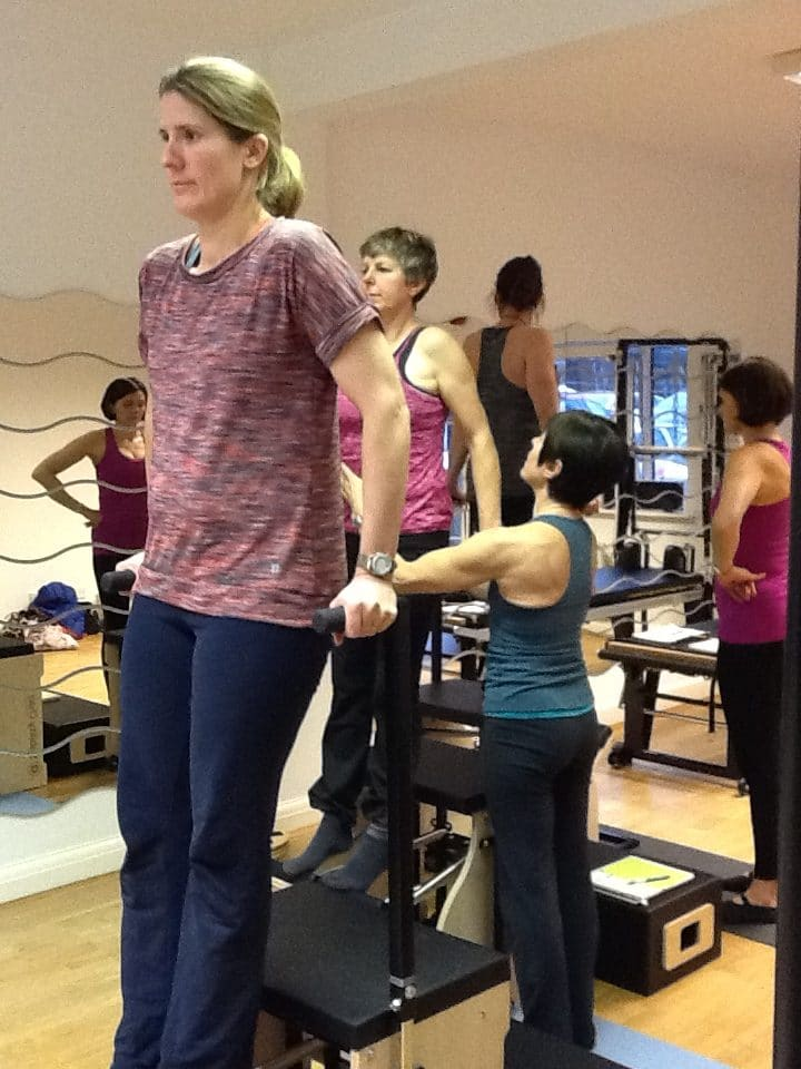 Instructor Training on Stott Pilates Stability Chair